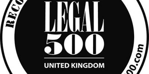 Success for OTS Solicitors in the Legal 500 2021 law directory